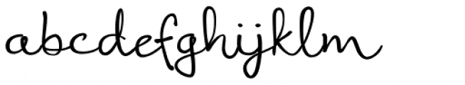 Coral Font LOWERCASE