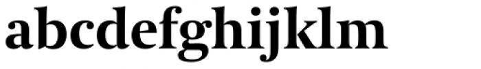 Coranto 2 Bold Font LOWERCASE