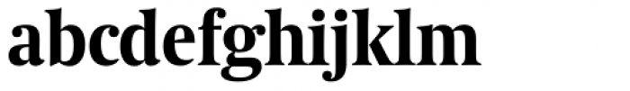 Coranto 2 Headline Bold Font LOWERCASE