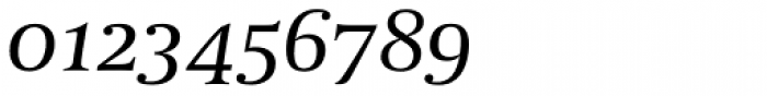 Coranto 2 Italic Font OTHER CHARS