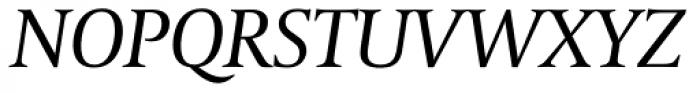 Coranto 2 Italic Font UPPERCASE