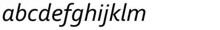 Corbel Italic Font LOWERCASE