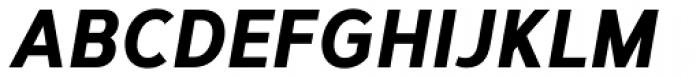 Corbert Condensed ExtraBold Italic Font UPPERCASE