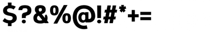 Corbert Condensed ExtraBold Font OTHER CHARS