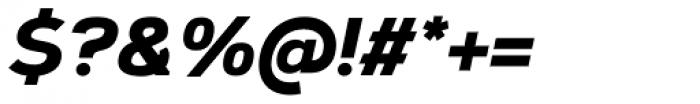 Corbert Heavy Italic Font OTHER CHARS
