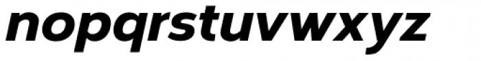 Corbert Heavy Italic Font LOWERCASE