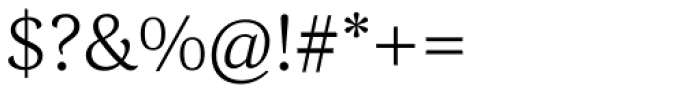 Corda Light Font OTHER CHARS