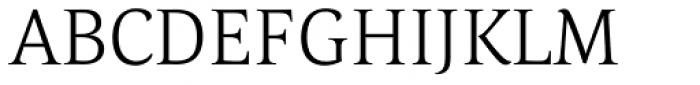 Corda Light Font UPPERCASE