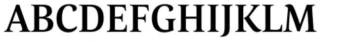 Corda Medium Font UPPERCASE