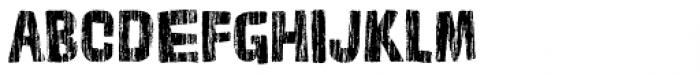 Cordelia Wood Font UPPERCASE