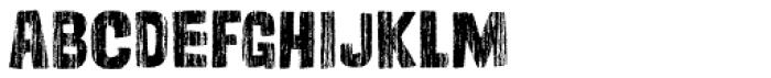 Cordelia Wood Font LOWERCASE