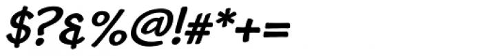 Cordin Bold Oblique Font OTHER CHARS