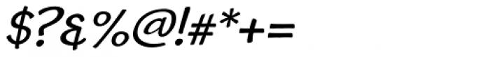 Cordin Caps 1 Oblique Font OTHER CHARS