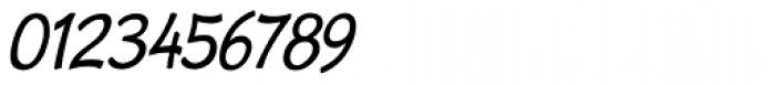Cordin Condensed Oblique Font OTHER CHARS