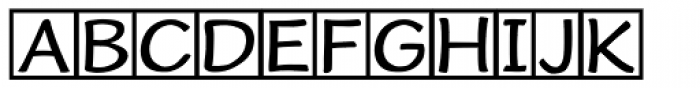 Cordin Freebie Font UPPERCASE