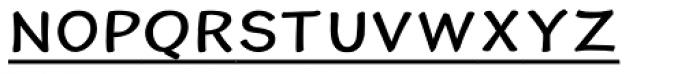 Cordin Freebie Font LOWERCASE