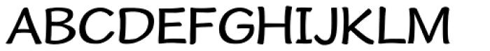 Cordin Font UPPERCASE