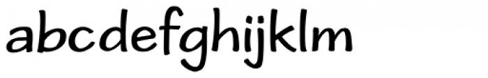 Cordin Font LOWERCASE