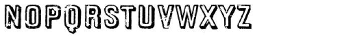 Cordoba Font UPPERCASE