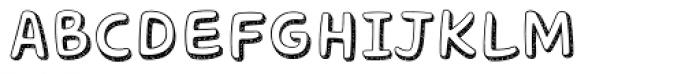 Core Bandi Font UPPERCASE