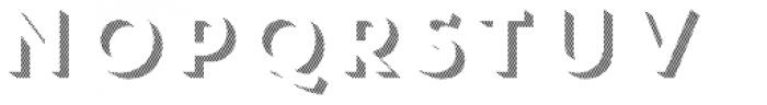 Core Circus 3D Line2 Font UPPERCASE