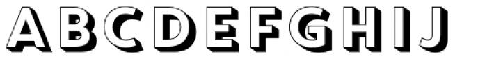 Core Circus Pierrot1 Font LOWERCASE