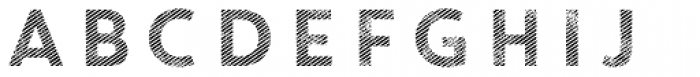 Core Circus Rough 2D Line1 Font LOWERCASE