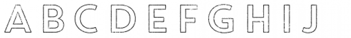Core Circus Rough 2D Out Font LOWERCASE
