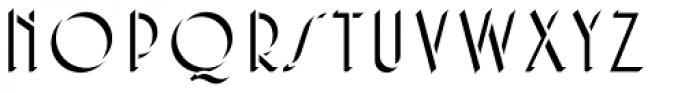 Core Deco A2 Font LOWERCASE