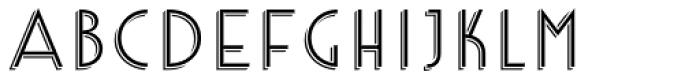 Core Deco A3 Font UPPERCASE