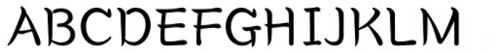 Core Gungseo Light Font UPPERCASE