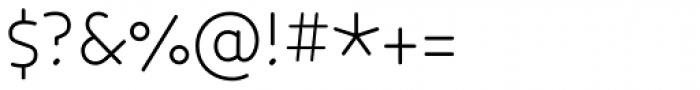Core Humanist Sans Light Font OTHER CHARS