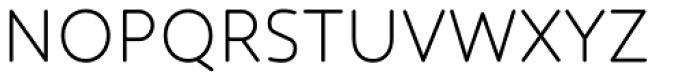 Core Humanist Sans Light Font UPPERCASE
