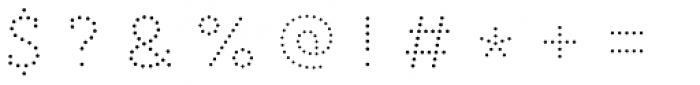 Core Magic 2D Dot1 Font OTHER CHARS