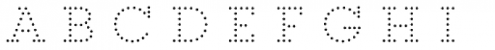 Core Magic 2D Dot1 Font LOWERCASE