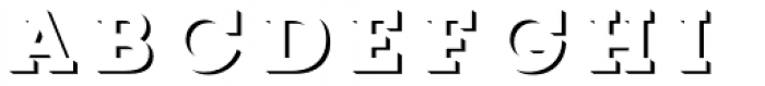 Core Magic 3D Up Font LOWERCASE