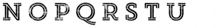 Core Magic Rough 2D Double Font LOWERCASE
