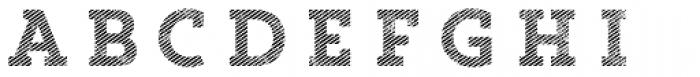 Core Magic Rough 2D Line1 Font LOWERCASE