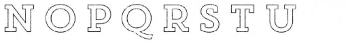 Core Magic Rough 2D Out Font UPPERCASE