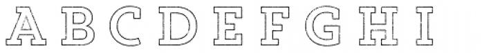 Core Magic Rough 2D Out Font LOWERCASE