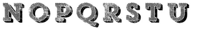 Core Magic Rough Wand3 Font LOWERCASE