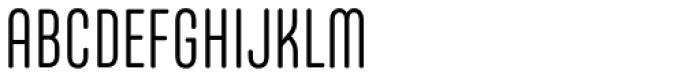 Core Mellow 39 Cp Light Font UPPERCASE