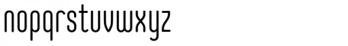 Core Mellow 39 Cp Light Font LOWERCASE