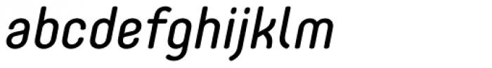 Core Mellow 45 Italic Font LOWERCASE