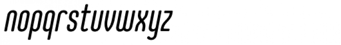 Core Mellow 49 Cp Italic Font LOWERCASE