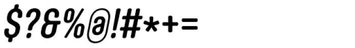 Core Mellow 57 Cn Medium Italic Font OTHER CHARS