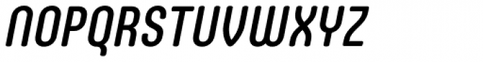 Core Mellow 57 Cn Medium Italic Font UPPERCASE