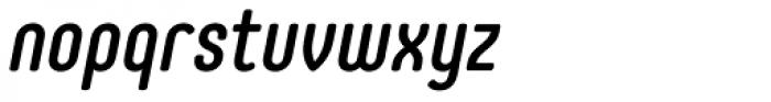 Core Mellow 57 Cn Medium Italic Font LOWERCASE