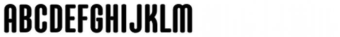 Core Mellow 79 Cp ExtraBold Font UPPERCASE