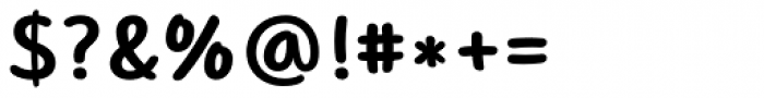 Core Narae Pro Bold Font OTHER CHARS